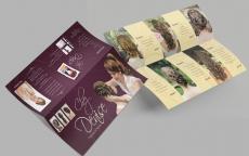 Double DL leaflet mockup